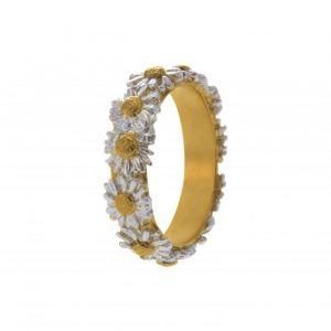 Alex Monroe Daisy Wreath Ring